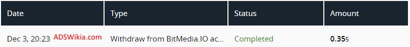 BitMedia Proof of Payment