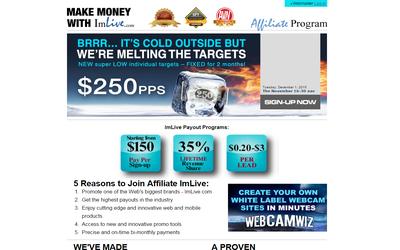 Webcam Affiliate Programs
